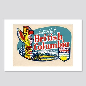 Vintage British Columbia Postcards (Package of 8)