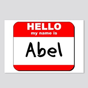 Hello my name is Abel Postcards (Package of 8)