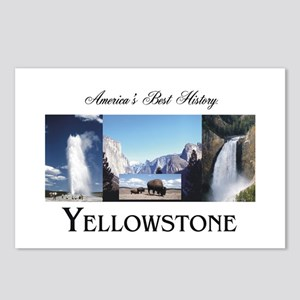 Yellowstone Americasbesth Postcards (package Of 8)
