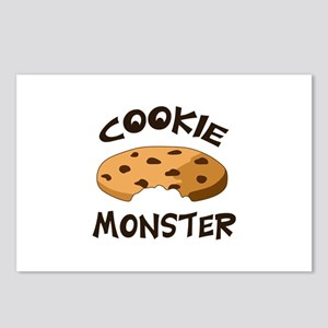 COOKIE MONSTER Postcards (Package of 8)