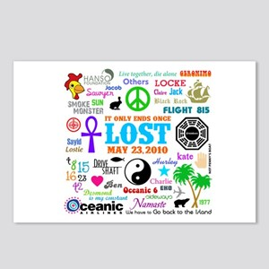 LOST Memories Postcards (Package of 8)
