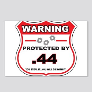protected by 44 shield Postcards (Package of 8)