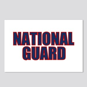 NATIONAL GUARD Postcards (Package of 8)