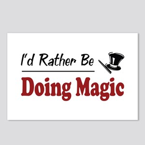 Rather Be Doing Magic Postcards (Package of 8)