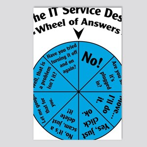 IT Wheel of Answers Postcards (Package of 8)