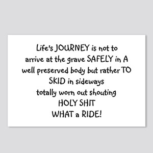 Life's journey Postcards (Package of 8)