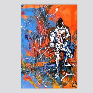 Abstract Epee2 Postcards (Package of 8)