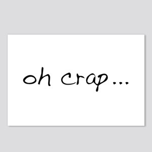 Oh Crap Postcards (Package of 8)