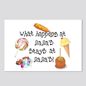 What Happens at Nana's... Postcards (Package of 8)