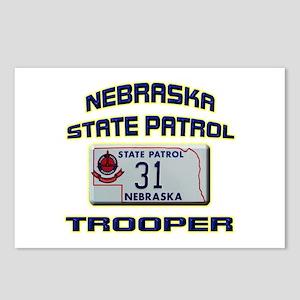 Nebraska State Patrol Postcards (Package of 8)