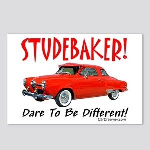Studebaker-Dare to be Diff Postcards (Package of 8