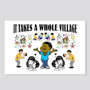 Childrearing Black children Postcards (Package of