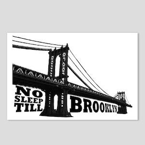 NO SLEEP TILL BROOKLYN Postcards (Package of 8)