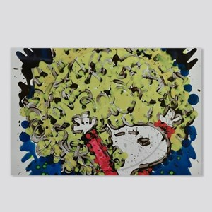 SHAGGY AFRO DOG HAIR Postcards (Package of 8)
