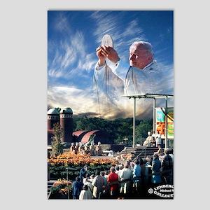 Pope John Paul II  Mass i Postcards (Package of 8)