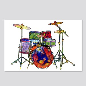 Wild Drums Postcards (Package of 8)