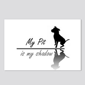 My Pit is my shadow Postcards (Package of 8)