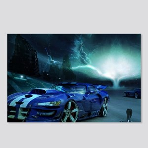 FASTER THAN LIGHTENING Postcards (Package of 8)