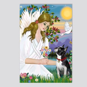 Angel Love - Boston Terri Postcards (Package of 8)