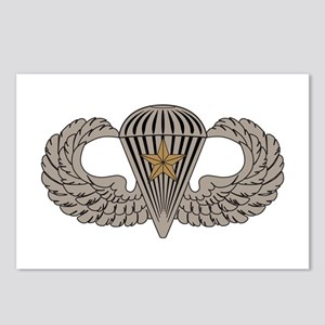 Combat Parachutist 1st awd basic Postcards (Packag