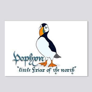 Puffin Postcards (Package of 8)
