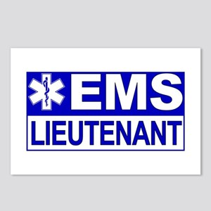 EMS Lieutenant Postcards (Package of 8)