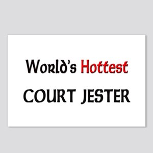 World's Hottest Court Jester Postcards (Package of