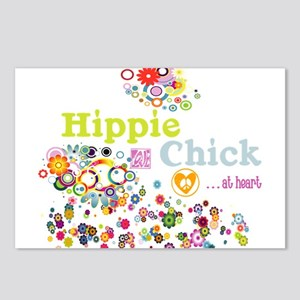 Hippie Chick at Heart Postcards (Package of 8)