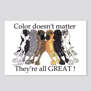 N6 Color Doesn't Matter Postcards (Package of 8)