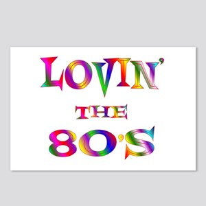 80's Postcards (Package of 8)