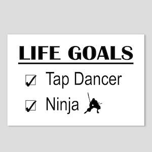 Tap Dancer Ninja Life Goa Postcards (Package of 8)