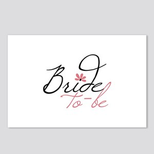 Bride to - be Postcards (Package of 8)