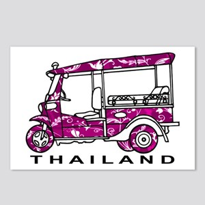 Tuk Tuk Thailand Postcards (Package of 8)