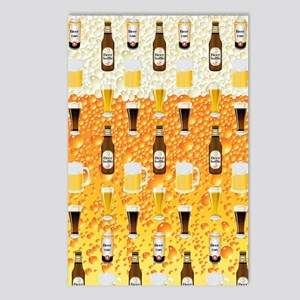 Beer Flip Flops Postcards (Package of 8)