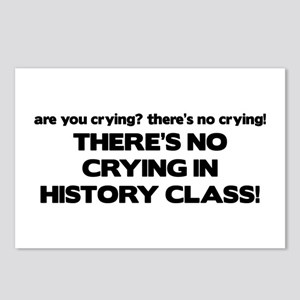 There's No Crying History Class Postcards (Package