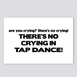 There's No Crying Tap Dance Postcards (Package of