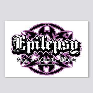 Epilepsy-Tribal Postcards (Package of 8)