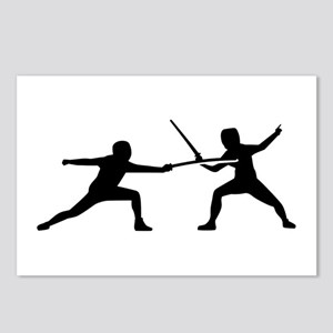 Fencing Postcards (Package of 8)