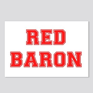 RED BARON! Postcards (Package of 8)
