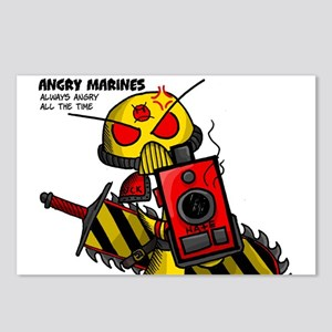 Angry Marines Postcards (Package of 8)