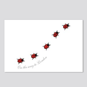 ladybird Postcards (Package of 8)