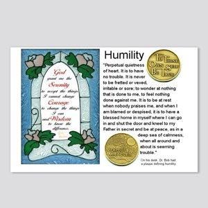 HUMILITY Postcards (Package of 8)