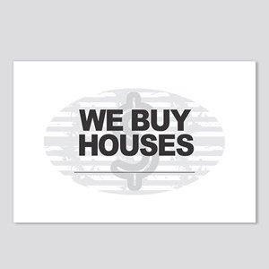 We Buy Houses Postcards (Package of 8)