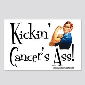 Kickin Cancers Ass! Postcards (Package of 8)