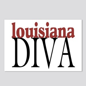 Louisiana Diva Postcards (Package of 8)