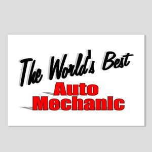 """The World's Best Auto Mechanic"" Postcards (Packag"