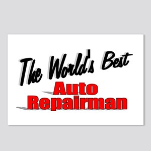 """The World's Best Auto Repairman"" Postcards (Packa"