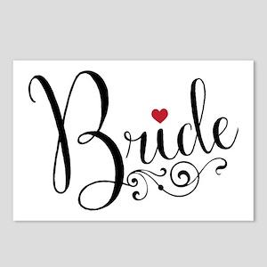 Elegant Bride Postcards (Package of 8)
