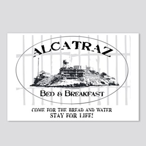 ALCATRAZ BB Postcards (Package of 8)