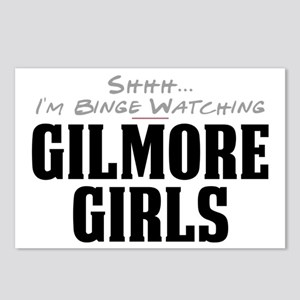 Shhh... I'm Binge Watching Gilmore Girls Postcards